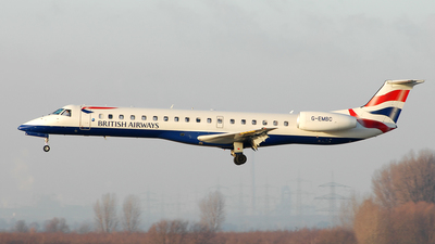 G-EMBC - Embraer ERJ-145EU - British Airways