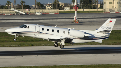 TC-KIP - Cessna 560XL Citation XLS Plus - Private