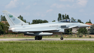 ZK613 - Eurofighter Typhoon T.1 - Saudi Arabia - Air Force