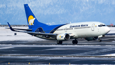 C-GCNU - Boeing 737-36Q - Canadian North