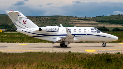 YU-SCJ - Cessna 525 Citationjet CJ1 - Prince Edward Air