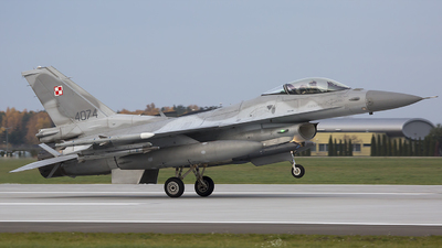 4047 - Lockheed Martin F-16C Fighting Falcon - Poland - Air Force