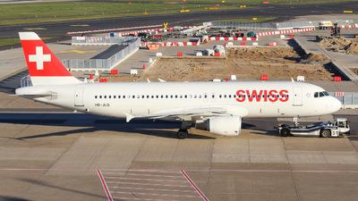 HB-JLQ - Airbus A320-214 - Swiss