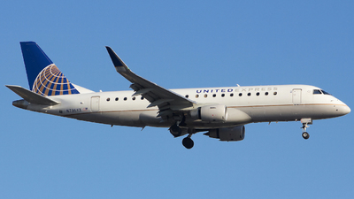 A picture of N736YX - Embraer E175LR - United Airlines - © Xiamen Air 849