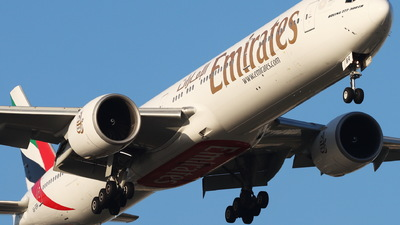 A picture of A6EBR - Boeing 77731H(ER) - Emirates - © CHA CHA