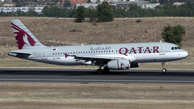 A7-ADH - Airbus A320-232 - Qatar Airways