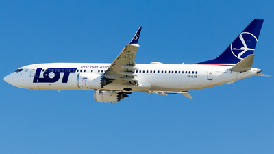 SP-LVB - Boeing 737-8 MAX - LOT Polish Airlines