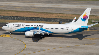 B-1415 - Boeing 737-83Z - Donghai Airlines
