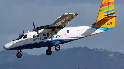 VQ-TCG - De Havilland Canada DHC-6-300 Twin Otter - interCaribbean Airways