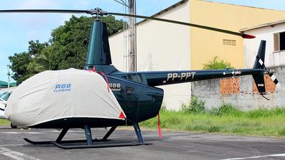 A picture of PPPPT - Robinson R66 Turbine - [0108] - © Eduardo Jeppesen / Equipe GIG ao vivo