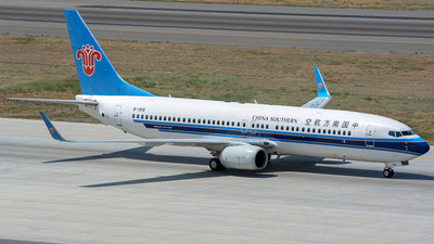 A picture of B1918 - Boeing 73781B - China Southern Airlines - © JerryDeng