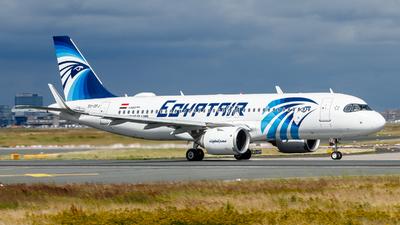 A picture of SUGFJ - Airbus A320251N - EgyptAir - © Daniel Nagy
