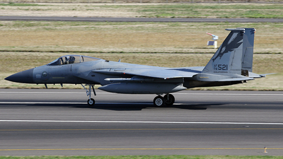 78-0521 - McDonnell Douglas F-15C Eagle - United States - US Air Force (USAF)