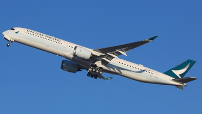 F-WZHF - Airbus A350-1041 - Cathay Pacific Airways