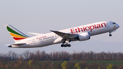 A picture of ETATH - Boeing 7878 Dreamliner - Ethiopian Airlines - © Lorenz Kafenda
