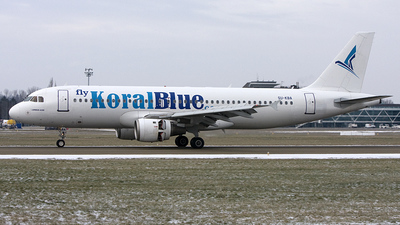 SU-KBA - Airbus A320-212 - Koral Blue Airlines