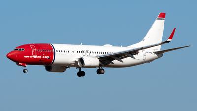 A picture of SERPS - Boeing 7378JP - Norwegian - © Medolago Manuel