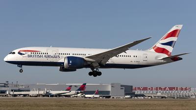 A picture of GZBJD - Boeing 7878 Dreamliner - British Airways - © PeachAir