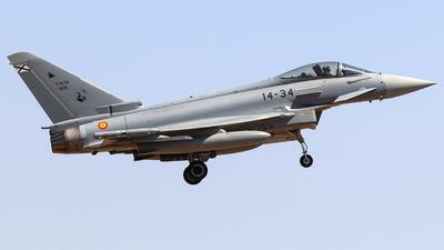 C.16-76 - Eurofighter Typhoon EF2000 - Spain - Air Force