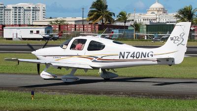 N740NG - Cirrus SR22-G2 - Private