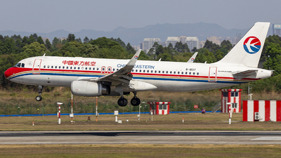 B-1607 - Airbus A320-232 - China Eastern Airlines