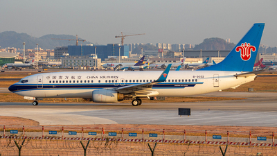 B-5022 - Boeing 737-81B - China Southern Airlines