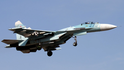 27 - Sukhoi Su-27SM Flanker - Russia - Air Force