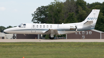 N26TY - Cessna 550 Citation II - Private