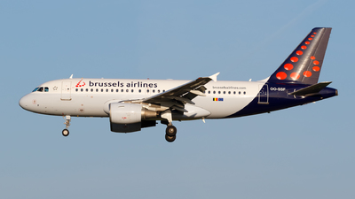 A picture of OOSSF - Airbus A319111 - Brussels Airlines - © Matteo Lamberts