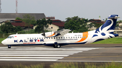 PK-KSU - ATR 72-212A(600) - Kalstar Aviation