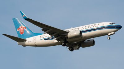 A picture of B5251 - Boeing 73771B - China Southern Airlines - © PENCIL202_