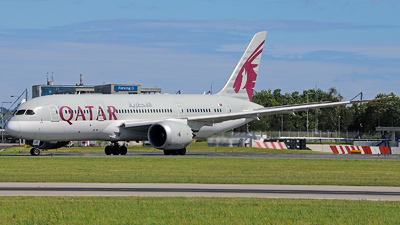 A picture of A7BCR - Boeing 7878 Dreamliner - Qatar Airways - © Roman Eisenreich