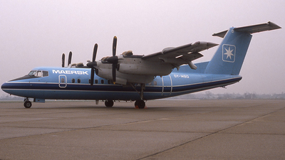 OY-MBD - De Havilland Canada DHC-7-102 Dash 7 - Maersk Air