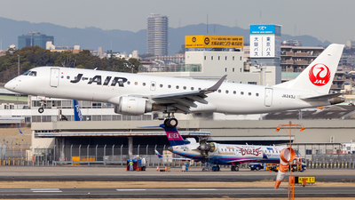 A picture of JA243J - Embraer E190STD - Noble Air Charter - © LUSU