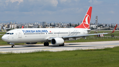 A picture of TCJYO - Boeing 7379F2(ER) - Turkish Airlines - © Savas binici