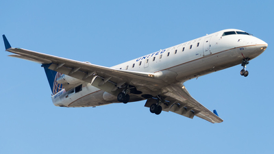 A picture of N973SW - Bombardier CRJ200ER - United Airlines - © M.R. Aviation Ph