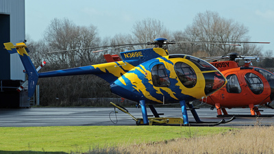 N369E - MD Helicopters 369E - Private