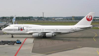 JA8902 - Boeing 747-446 - Japan Airlines (JAL)