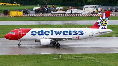 A picture of HBIHZ - Airbus A320214 - Edelweiss Air - © Sebastian Thiel
