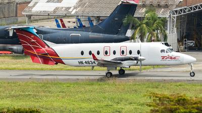 HK-4634 - Beech 1900D - TAC - Transporte Aéreo de Colombia