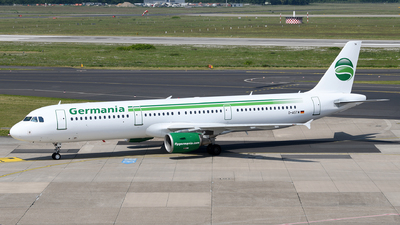 D-ASTM - Airbus A321-211 - Germania