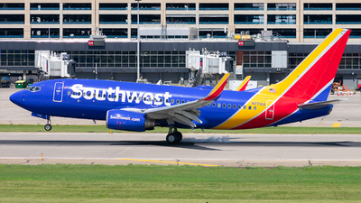 A picture of N7716A - Boeing 73776N - Southwest Airlines - © Mateo Skinner