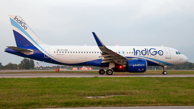 A picture of VTIVZ - Airbus A320271N - IndiGo - © Fabrizio Gandolfo
