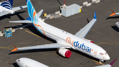 A picture of A6FML - Boeing 737 MAX 8 - FlyDubai - © zhangmx969