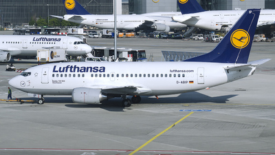 D-ABIP - Boeing 737-530 - Lufthansa