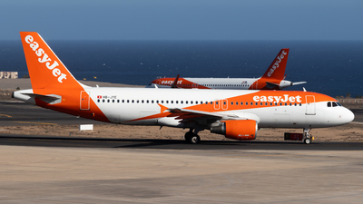 A picture of HBJYE - Airbus A320214 - easyJet - © Pablo Marín