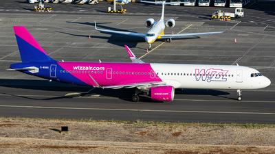 G-WUKN - Airbus A321-271NX - Wizz Air UK