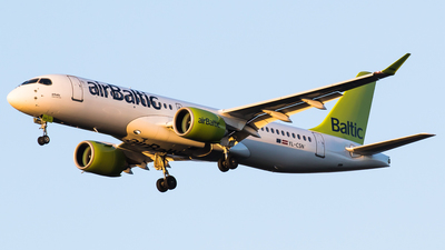 A picture of YLCSN - Airbus A220300 - Air Baltic - © Teemu Pesonen