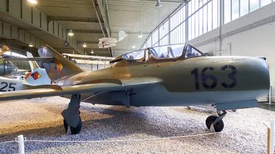163 - Mikoyan-Gurevich MiG-15UTI Midget - German Democratic Republic - Air Force