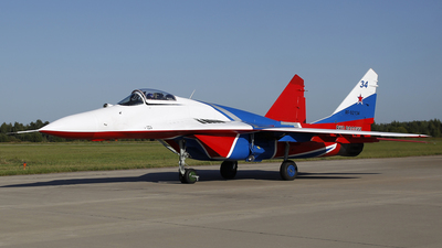 RF-92134 - Mikoyan-Gurevich MiG-29S Fulcrum C - Russia - Air Force